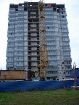 Ход строительства. Жилой дом. Санкт-Петербург ул. Дыбенко.