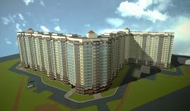 Модель жилого комплекса Александрия.