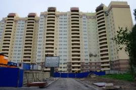 Вид построенного ЖК Александрия.